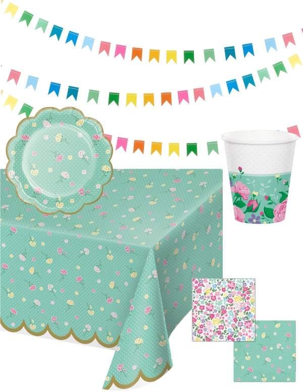 Pack décoration d'anniversaire adulte ou fête des mères Biogato - 1