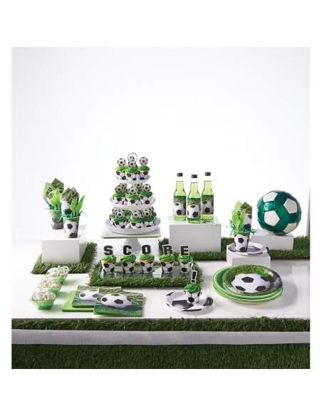 Pack décoration d'anniversaire football Biogato - 2