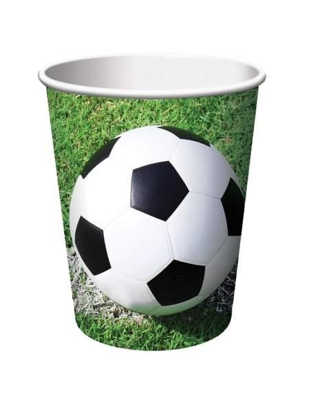 Pack décoration d'anniversaire football Biogato - 4