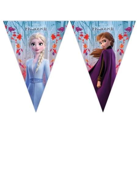 Pack décoration d'anniversaire Reine des neiges princesses Disney Biogato - 2