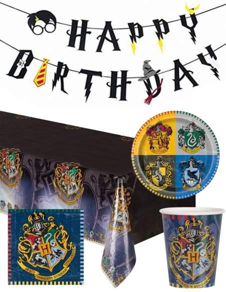 Pack décoration d'anniversaire Harry Potter Biogato - 1
