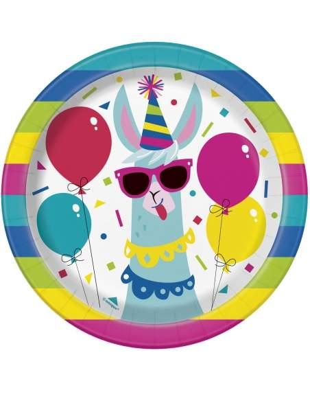 Pack décoration d'anniversaire Lama cool et festif (adolescent, adulte) Biogato - 2