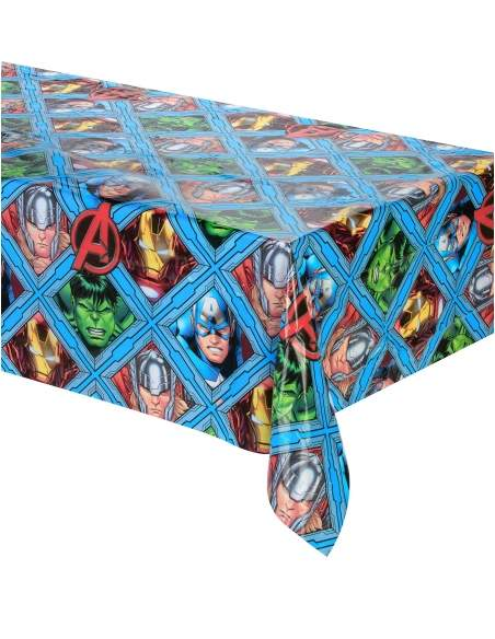 Pack décoration d'anniversaire Hulk Marvel super-héro Biogato - 2