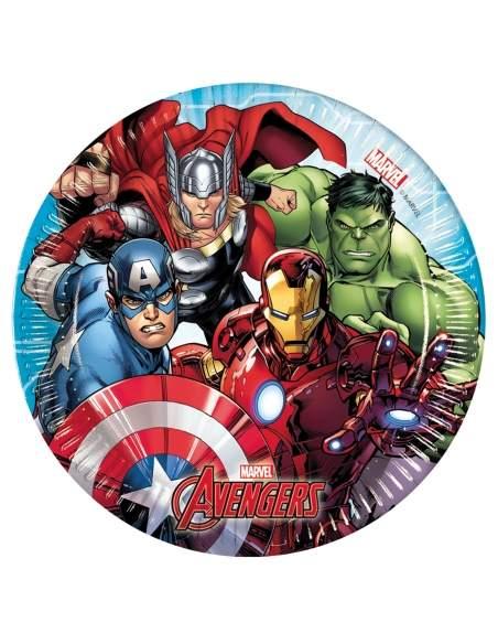 Pack décoration d'anniversaire Hulk Marvel super-héro Biogato - 3