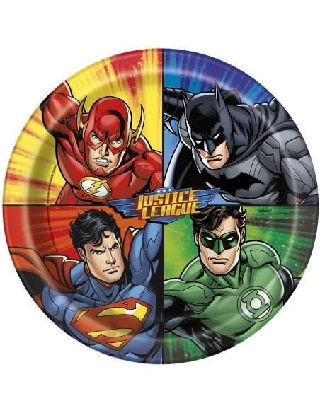 Pack décoration d'anniversaire Justice league superman, batman Biogato - 2