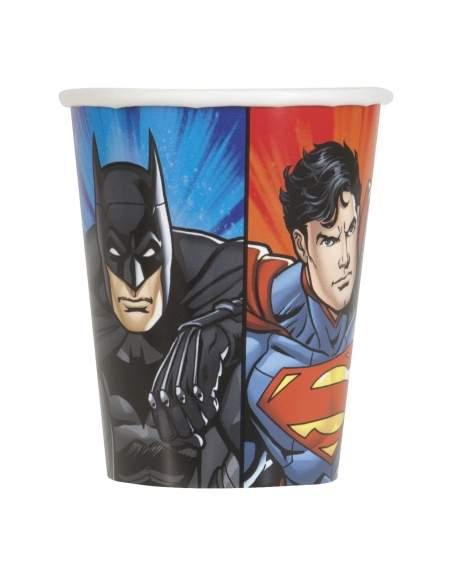 Pack décoration d'anniversaire Justice league superman, batman Biogato - 3