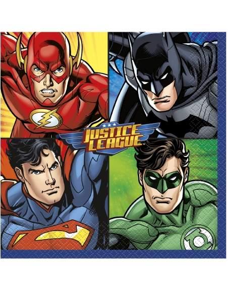 Pack décoration d'anniversaire Justice league superman, batman Biogato - 5