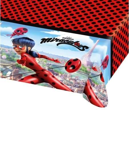 Pack décoration d'anniversaire Ladybug Miraculous Biogato - 4