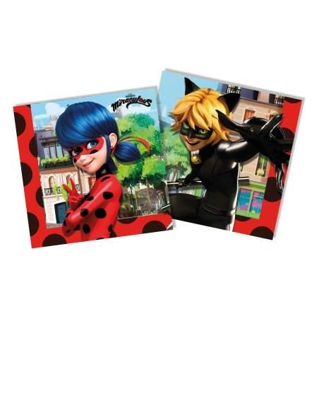 Pack décoration d'anniversaire Ladybug Miraculous Biogato - 5