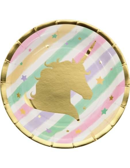 Pack décoration d'anniversaire licorne unicorn Biogato - 2