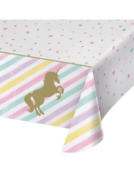Pack décoration d'anniversaire licorne unicorn Biogato - 5