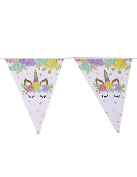 Pack décoration d'anniversaire licorne unicorn Biogato - 7