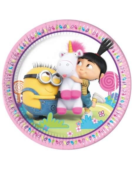 Pack décoration d'anniversaire Minions pour fille Moi, moche et méchant Biogato - 2