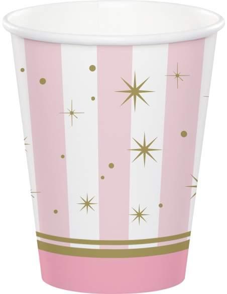 Pack décoration d'anniversaire Naissance Baby shower fille Biogato - 5