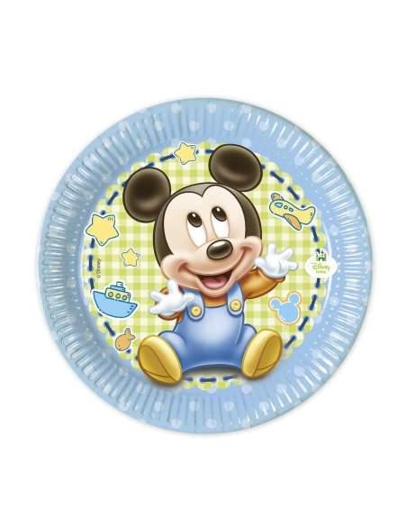 Pack décoration d'anniversaire Naissance Baby shower garçon Biogato - 2