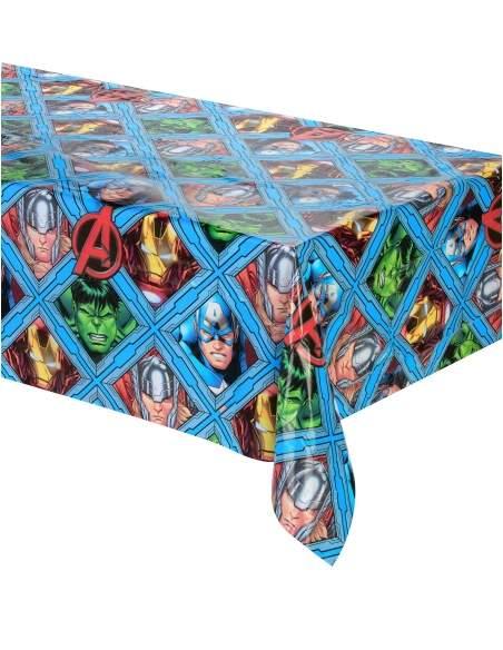 Pack décoration d'anniversaire Avengers Marvel super-héros Biogato - 2