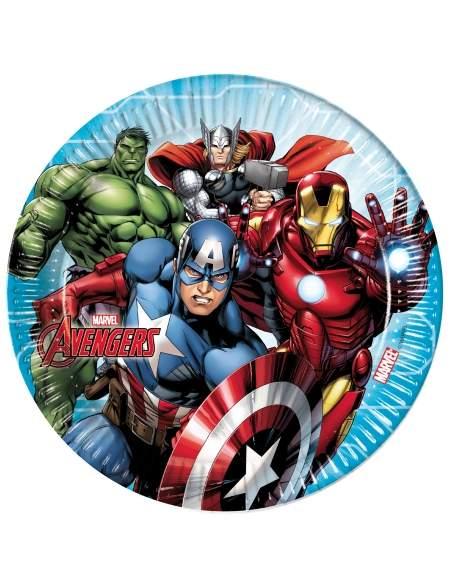 Pack décoration d'anniversaire Avengers Marvel super-héros Biogato - 4