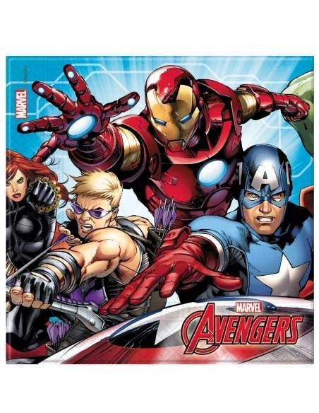 Pack décoration d'anniversaire Avengers Marvel super-héros Biogato - 5