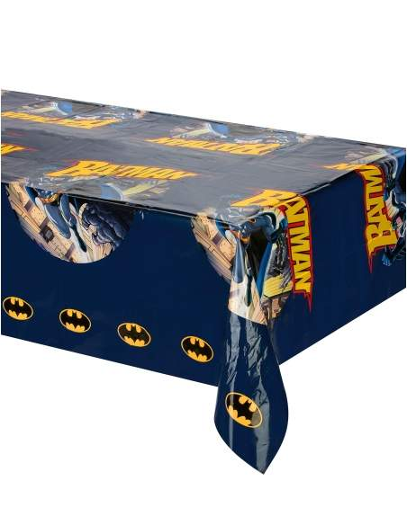Pack décoration d'anniversaire Batman super-héros Biogato - 4