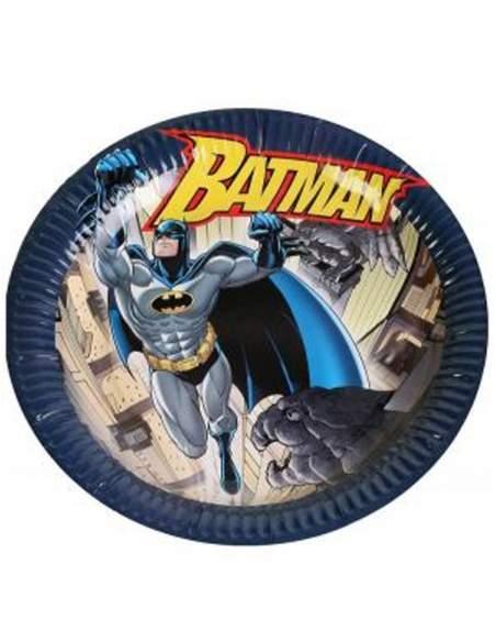 Pack décoration d'anniversaire Batman super-héros Biogato - 5