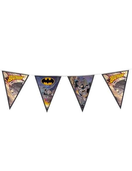 Pack décoration d'anniversaire Batman super-héros Biogato - 7