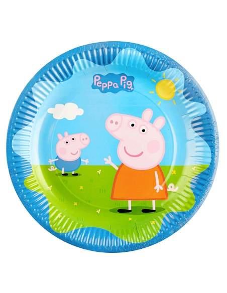 Pack décoration d'anniversaire Peppa pig Biogato - 3
