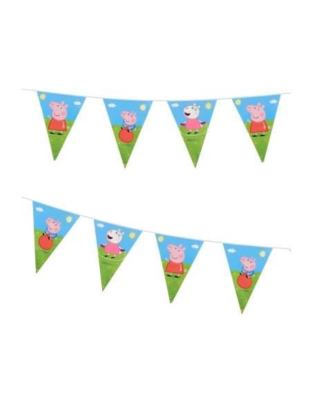 Pack décoration d'anniversaire Peppa pig Biogato - 6