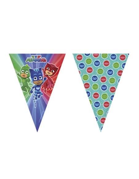 Pack décoration d'anniversaire Pyjamasque PJ Masks Biogato - 4