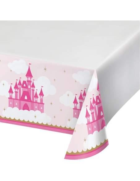 Pack décoration d'anniversaire princesse rose fille Biogato - 2