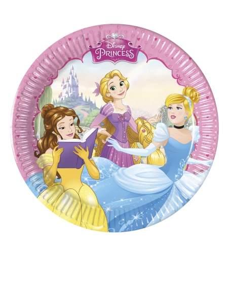 Pack décoration d'anniversaire princesse Raiponce princesse Disney Biogato - 2