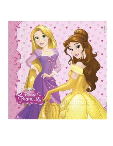 Pack décoration d'anniversaire princesse Raiponce princesse Disney Biogato - 3
