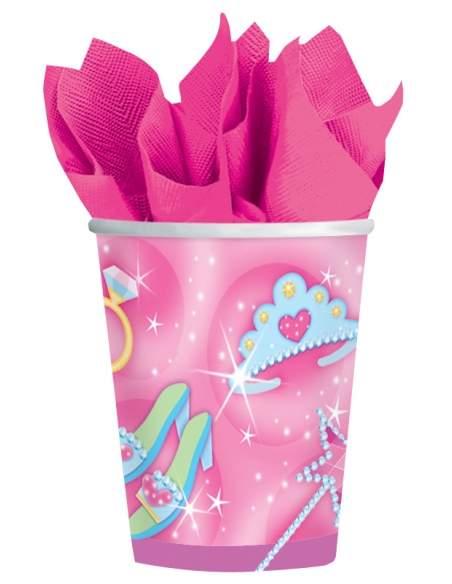 Pack décoration d'anniversaire princesse Raiponce princesse Disney Biogato - 4
