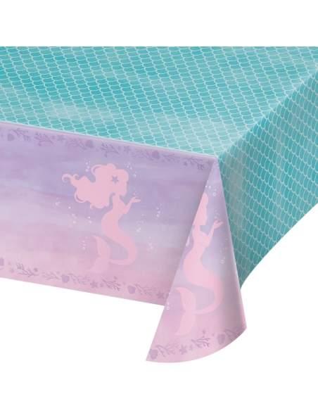 Pack décoration d'anniversaire sirène Ariel la petite sirène princesse Disney Biogato - 2