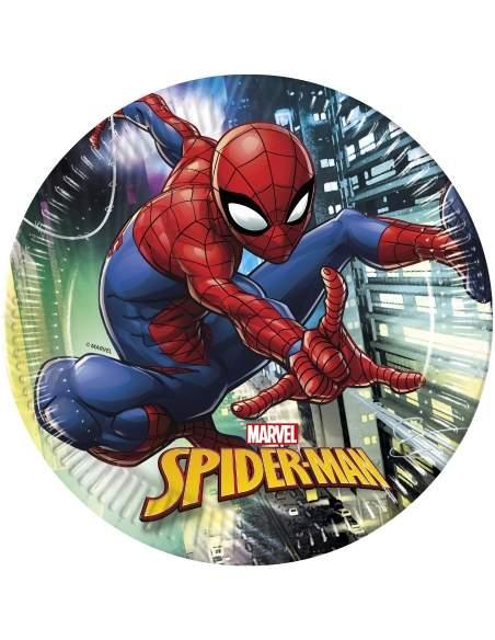 Pack décoration d'anniversaire Spiderman Marvel super-héros Biogato - 2