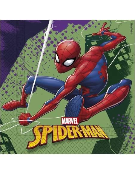Pack décoration d'anniversaire Spiderman Marvel super-héros Biogato - 3