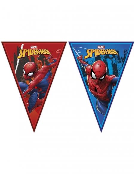 Pack décoration d'anniversaire Spiderman Marvel super-héros Biogato - 4