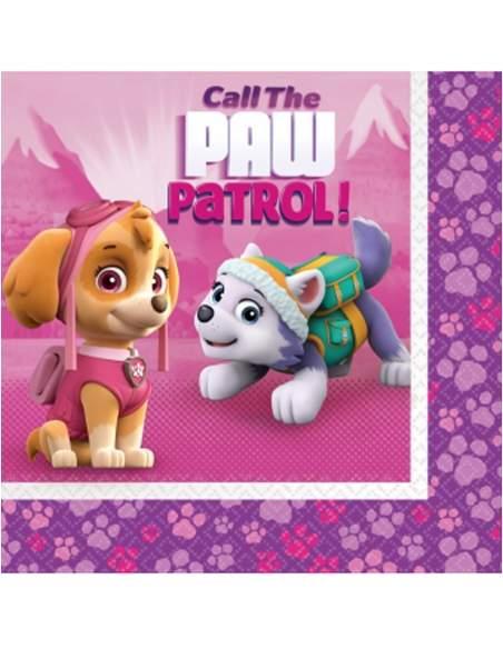 Pack décoration d'anniversaire Pat patrouille fille Stella et Everest Biogato - 3