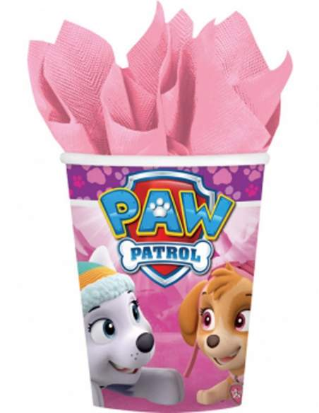 Pack décoration d'anniversaire Pat patrouille fille Stella et Everest Biogato - 4