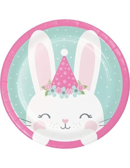 Pack décoration d'anniversaire Lapinou fille Biogato - 4
