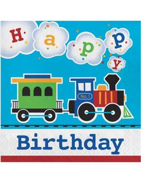 Pack décoration d'anniversaire Thomas le train et ses amis Biogato - 2