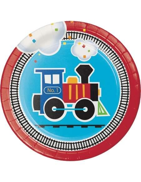 Pack décoration d'anniversaire Thomas le train et ses amis Biogato - 6