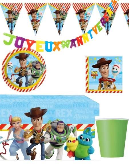 Pack décoration d'anniversaire Toy Story Biogato - 1