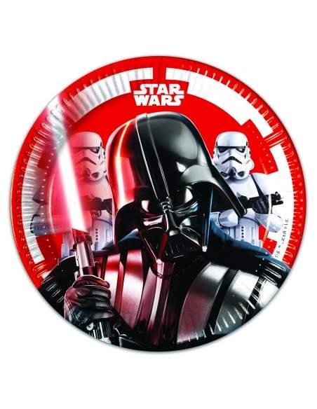 Pack décoration d'anniversaire Star Wars Dark Vador Biogato - 7