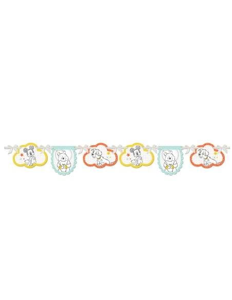 Pack décoration d'anniversaire Winnie l'ourson Disney Biogato - 6