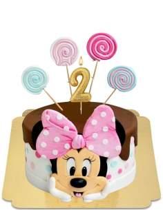 Gâteau Minnie à grandes oreilles et sucettes vegan, sans gluten - 130