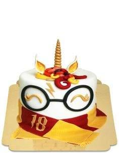 Biogato.fr Gâteau Harry Potter Licorne B01 vegan, bio et sans gluten - 32