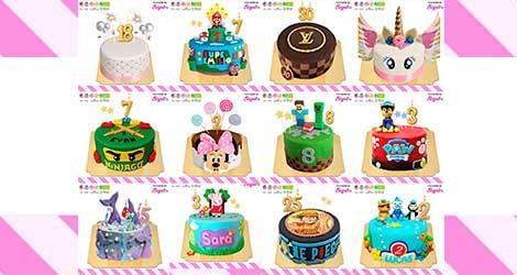 À la recherche d'un gâteau d'anniversaire personnalisé et vegan livré chez vous ?