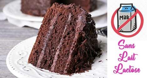 Gâteau sans lait pour un anniversaire sans lactose !